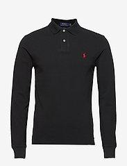 Polo Ralph Lauren - Slim Fit Mesh Long-Sleeve Polo - lange mouwen - polo black/c3870 - 0