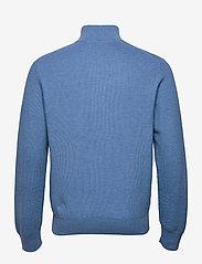 Polo Ralph Lauren - Cotton Half-Zip Sweater - half zip - blue stone heathe - 2