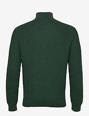 Polo Ralph Lauren - Cotton Half-Zip Sweater - half zip jumpers - hemlock green - 2