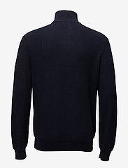 Polo Ralph Lauren - Cotton Quarter-Zip Sweater - half zip - navy heather - 2