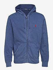 Polo Ralph Lauren - Cotton Spa Terry Hoodie - hoodies - cruise navy - 0