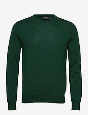 Slim Washable Merino Sweater - COLLEGE GREEN HEA