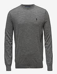Slim Washable Merino Sweater - FAWN GREY HEATHER