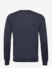 Polo Ralph Lauren - Slim Washable Merino Sweater - knitted round necks - fresco blue heath - 2