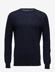 Slim Washable Merino Sweater - HUNTER NAVY