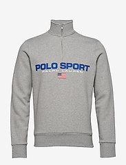 Polo Ralph Lauren - Polo Sport Half-Zip Sweatshirt - tops - andover heather - 0