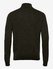 Polo Ralph Lauren - Washable Merino Wool Sweater - half zip jumpers - olive two tone - 2