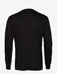 Polo Ralph Lauren - Custom Slim Interlock T-Shirt - langermede t-skjorter - polo black - 1