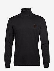 Polo Ralph Lauren - Soft Cotton Turtleneck - turtlenecks - polo black - 0