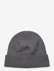 Polo Ralph Lauren - Wool Signature Pony Hat - bonnets & casquettes - fawn grey heather - 1