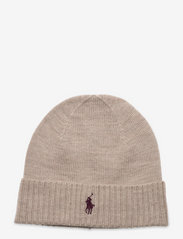 Wool Signature Pony Hat - OATMEAL HEATHER