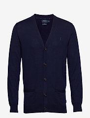 Polo Ralph Lauren - LS SF VN CRD-LONG SLEEVE-SWEATER - basic knitwear - hunter navy - 0