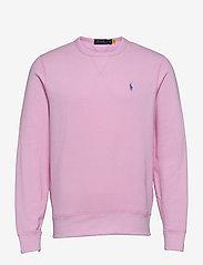 Fleece Crewneck Sweatshirt - CARMEL PINK
