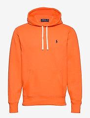 Polo Ralph Lauren - Fleece Hoodie - basic sweatshirts - bright signal ora - 0