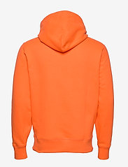 Polo Ralph Lauren - Fleece Hoodie - basic sweatshirts - bright signal ora - 1