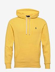 Polo Ralph Lauren - Fleece Hoodie - basic sweatshirts - sunfish yellow - 0