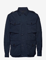 Polo Ralph Lauren - Four-Pocket Oxford Jacket - light jackets - aviator navy - 0