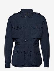 Polo Ralph Lauren - Four-Pocket Oxford Jacket - light jackets - aviator navy - 3