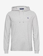 Polo Ralph Lauren - Cotton Mesh Hoodie - basic sweatshirts - andover heather/c - 0