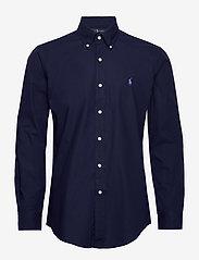 Polo Ralph Lauren - Custom Fit Poplin Shirt - basic shirts - newport navy - 0