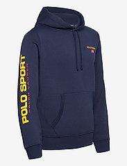 Polo Ralph Lauren - NEON FLEECE-LSL-KNT - basic sweatshirts - cruise navy - 2