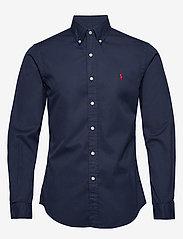 Polo Ralph Lauren - GD CHINO-SLBDPPCS - basic shirts - cruise navy - 0