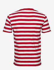 Polo Ralph Lauren - Custom Slim Striped T-Shirt - short-sleeved t-shirts - rl2000 red /white - 1