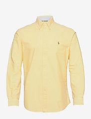 Custom Fit Oxford Shirt - YELLOW OXFORD