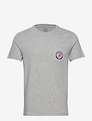 Polo Ralph Lauren - 26/1 JERSEY-SSL-TSH - basic t-shirts - andover heather - 0