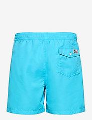 Polo Ralph Lauren - 5½-Inch Traveler Swim Trunk - badehosen - french turquoise - 1
