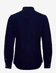 Polo Ralph Lauren - Slim Fit Indigo Oxford Shirt - basic shirts - indigo - 2