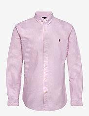 Polo Ralph Lauren - OXFORD-SLBDPPCS - oxford shirts - 2600b rose pink/w - 0