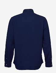 Polo Ralph Lauren - TEXTURE INDIGO WEAV-SLESTPPCS - basic shirts - 4783 dark indigo - 1