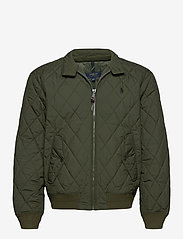 Polo Ralph Lauren - Water-Repellent Quilted Jacket - quilted jackets - company olive - 1