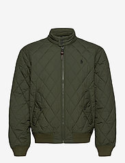 Polo Ralph Lauren - Water-Repellent Quilted Jacket - quilted jackets - company olive - 2