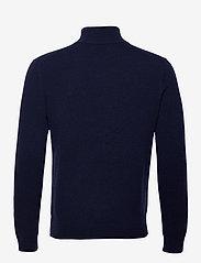 Polo Ralph Lauren - WOOL CASHMERE-LSL-SWT - half zip jumpers - hunter navy - 1
