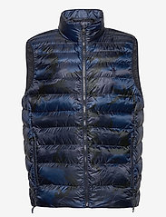 Polo Ralph Lauren - RECYCLED NYLON-TERRA VEST - vests - navy surpls camo - 1