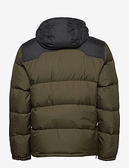 Polo Ralph Lauren - Color-Blocked Down Jacket - padded jackets - company olive/ po - 3