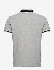 Polo Ralph Lauren - Custom Slim Fit Mesh Polo - short-sleeved polos - andover heather - 2