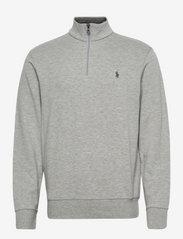 Jersey Quarter-Zip Pullover - ANDOVER HEATHER/C