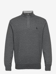 Jersey Quarter-Zip Pullover - MEDIUM FLANNEL HE