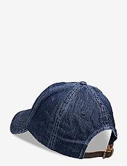 Polo Ralph Lauren - Preppy Bear Chino Cap - caps - denim - 1