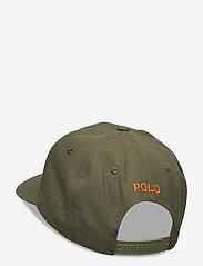 Polo Ralph Lauren - Twill High-Crown Ball Cap - petten - company olive - 1