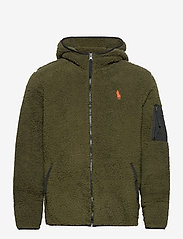 Polo Ralph Lauren - Fleece Full-Zip Hoodie - basic-sweatshirts - company olive - 0