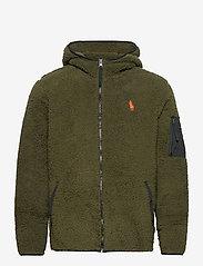 Polo Ralph Lauren - Fleece Full-Zip Hoodie - basic-sweatshirts - company olive - 0