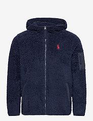 Polo Ralph Lauren - Fleece Full-Zip Hoodie - basic-sweatshirts - cruise navy - 1