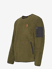 Polo Ralph Lauren - Fleece Utility Pullover - basic-sweatshirts - company olive - 2