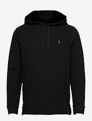 Mesh Hooded T-Shirt - POLO BLACK/C3870