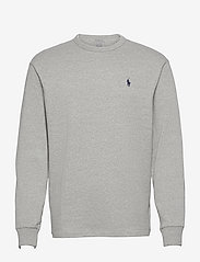 Classic Fit Jersey Long-Sleeve T-Shirt - ANDOVER HEATHER/C