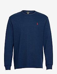 Classic Fit Jersey Long-Sleeve T-Shirt - NEWPORT NAVY/C387
